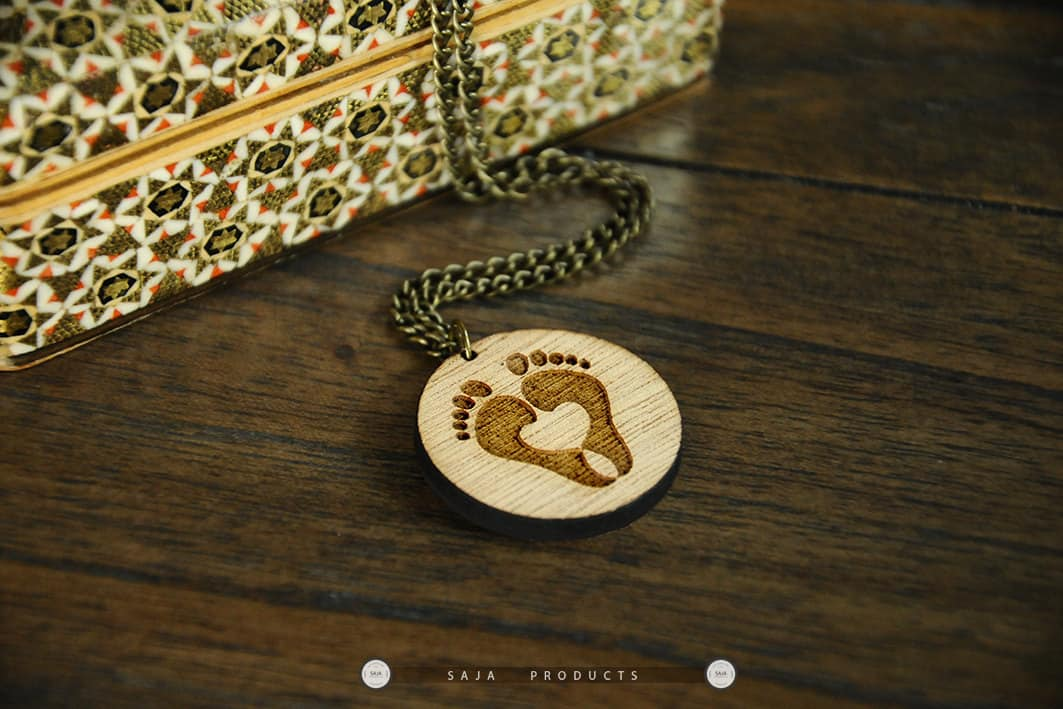 photo paw necklace locket footprint frame product image veterinarian memory cat dog products